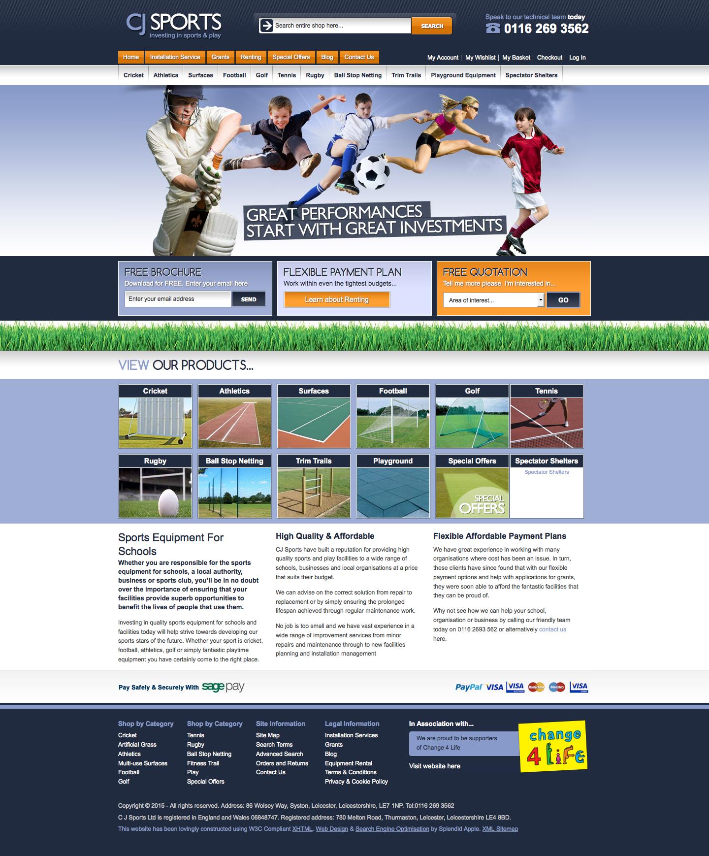 CJ Sports Ltd