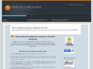 DelcoLockCodes.