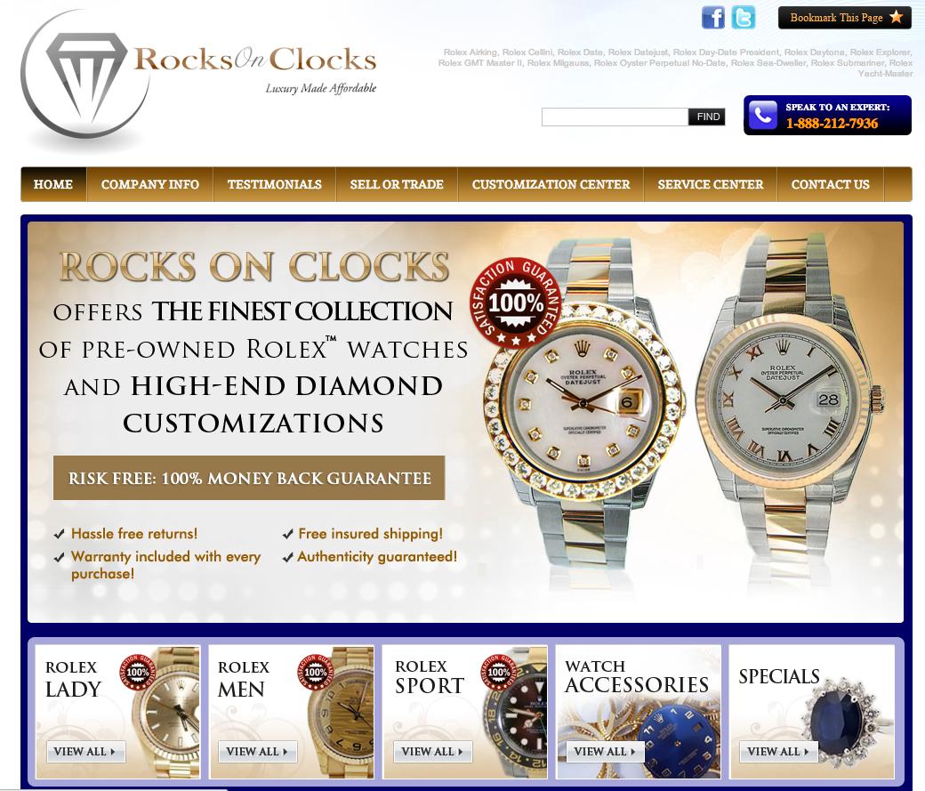 Rocksonclocks.c