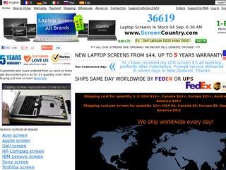ScreenCountry