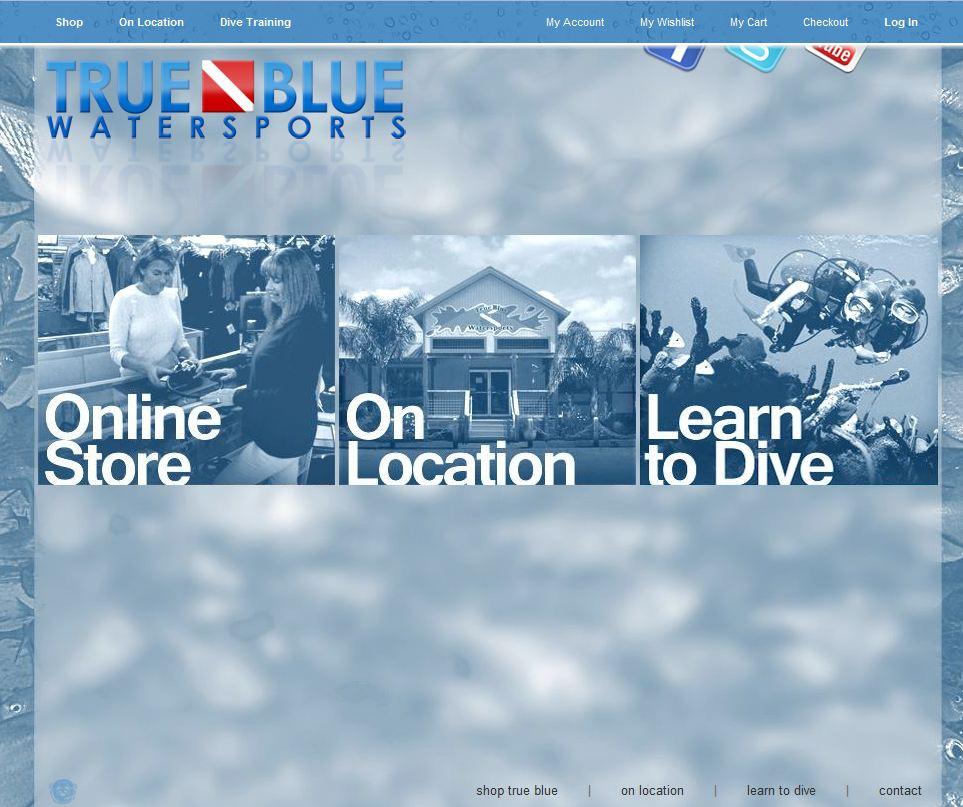 True Blue Water