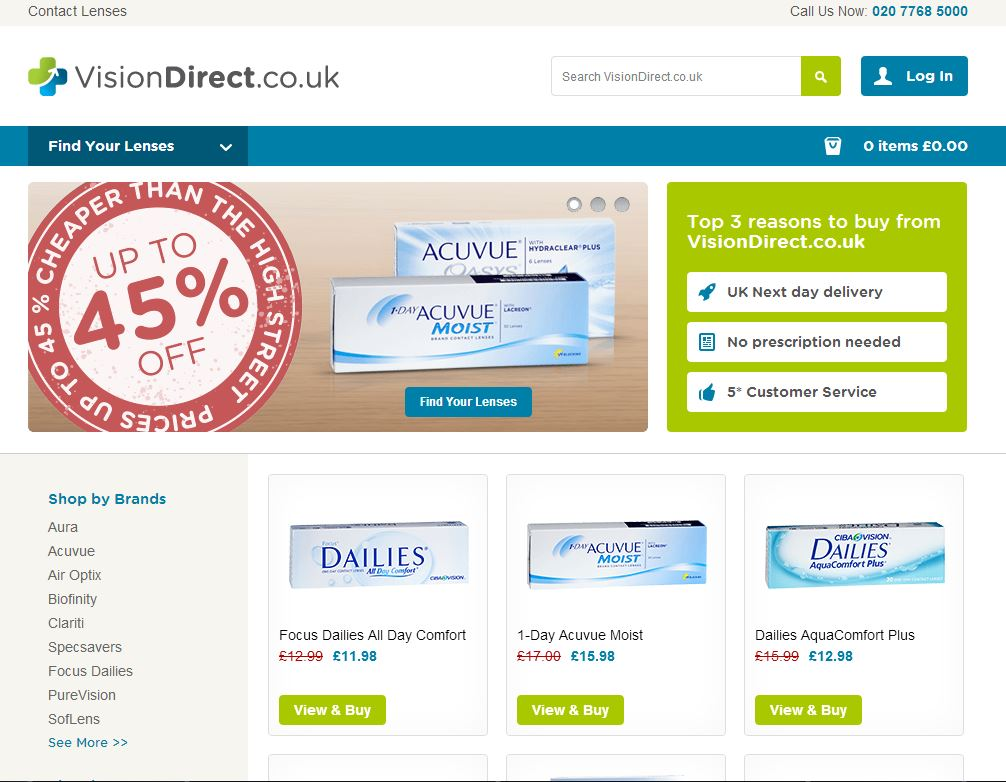 Vision Direct U